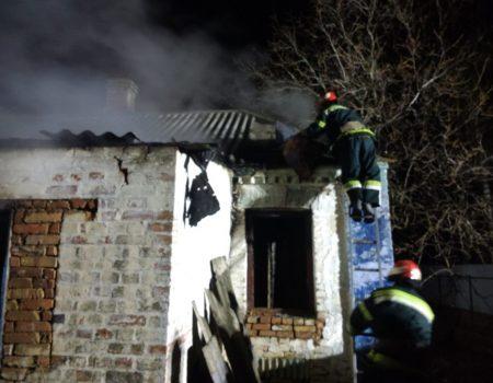 У Бобринці під час пожежі постраждав чоловік