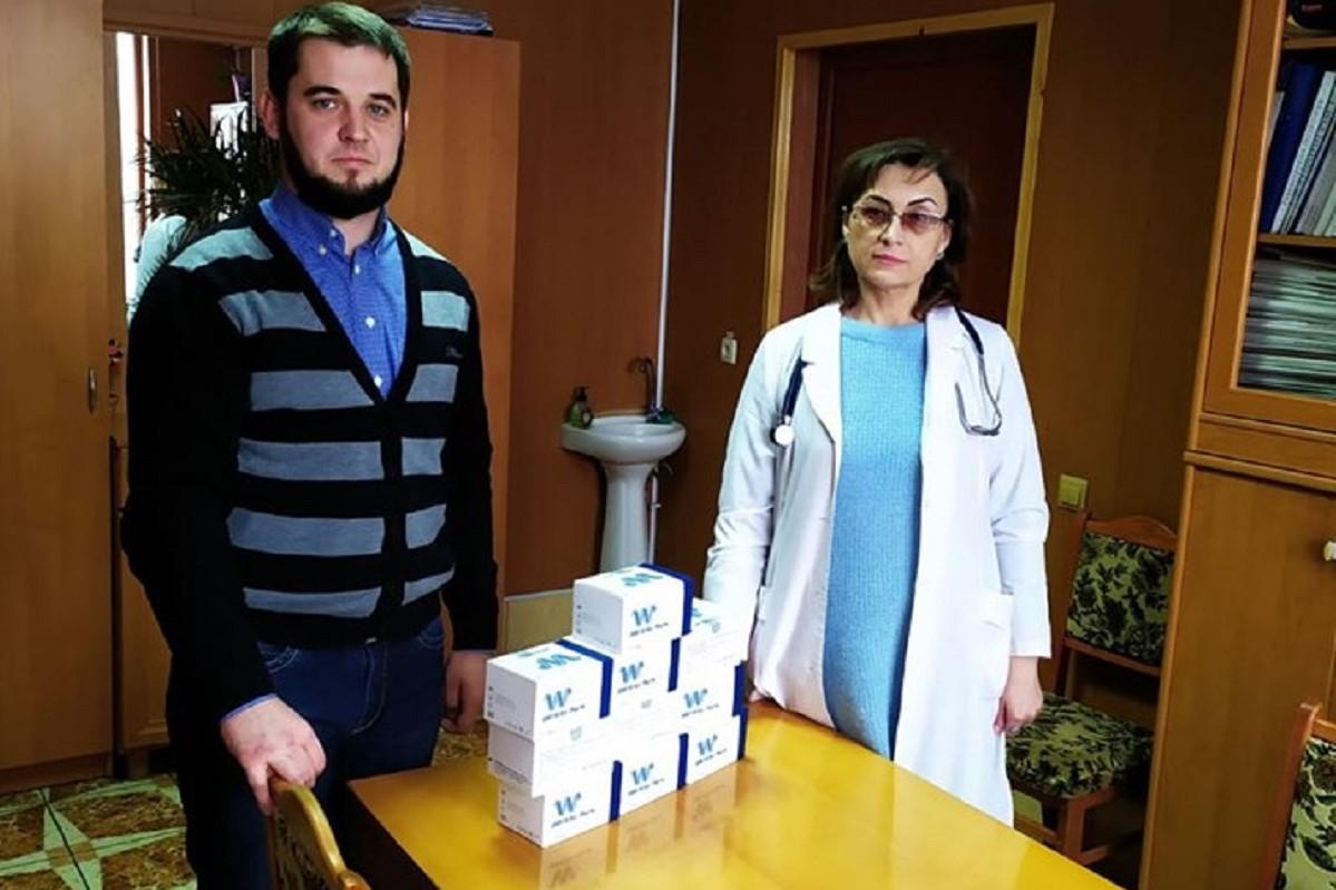 Без Купюр Пілотні медзаклади Кіровоградщини отримали тести для діагностики ВІЛ Здоров'я  медзаклади ВІЛ 2020 рік 100 відсотків життя