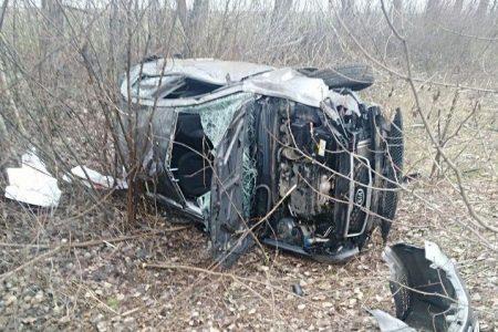 У Новомиргородському районі перекинулося авто. ФОТО
