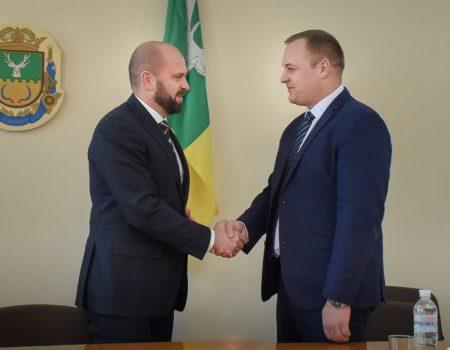 Андрій Балонь представив нового голову Олександрівської РДА