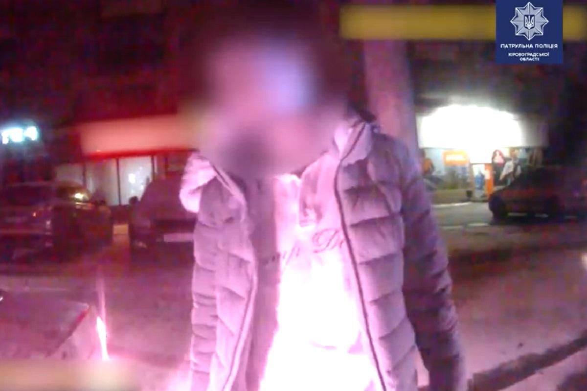 Без Купюр У Кропивницькому затримали п'яного водія з чужим посвідченням Життя  Патрульна поліція п'яний водій 2020 рік