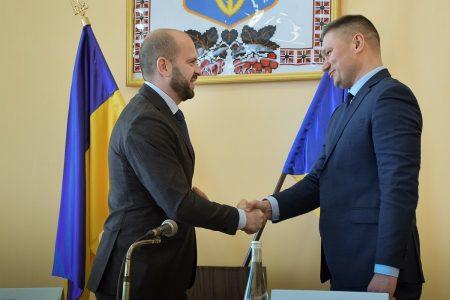 Сьогодні Андрій Балонь представив голову Новоукраїнської РДА