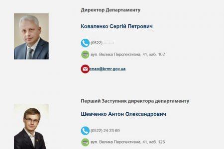 Колишній заступник голови ОДА очолив новий департамент у міськраді Кропивницького