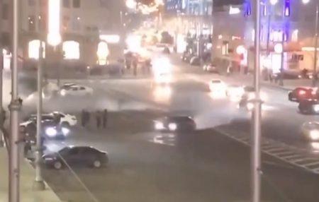 BMW, на якому влаштували дрифт у центрі Харкова, належить синові депутата Кіровоградської облради. ВІДЕО