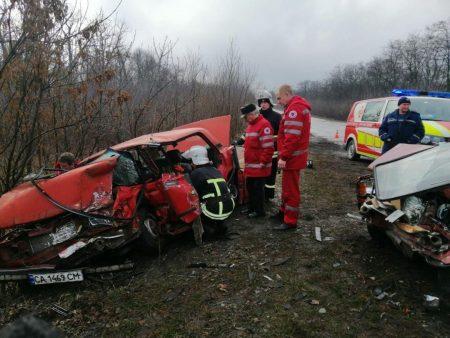 У ДТП в Кропивницькому районі постраждало п'ятеро чоловік. ФОТО