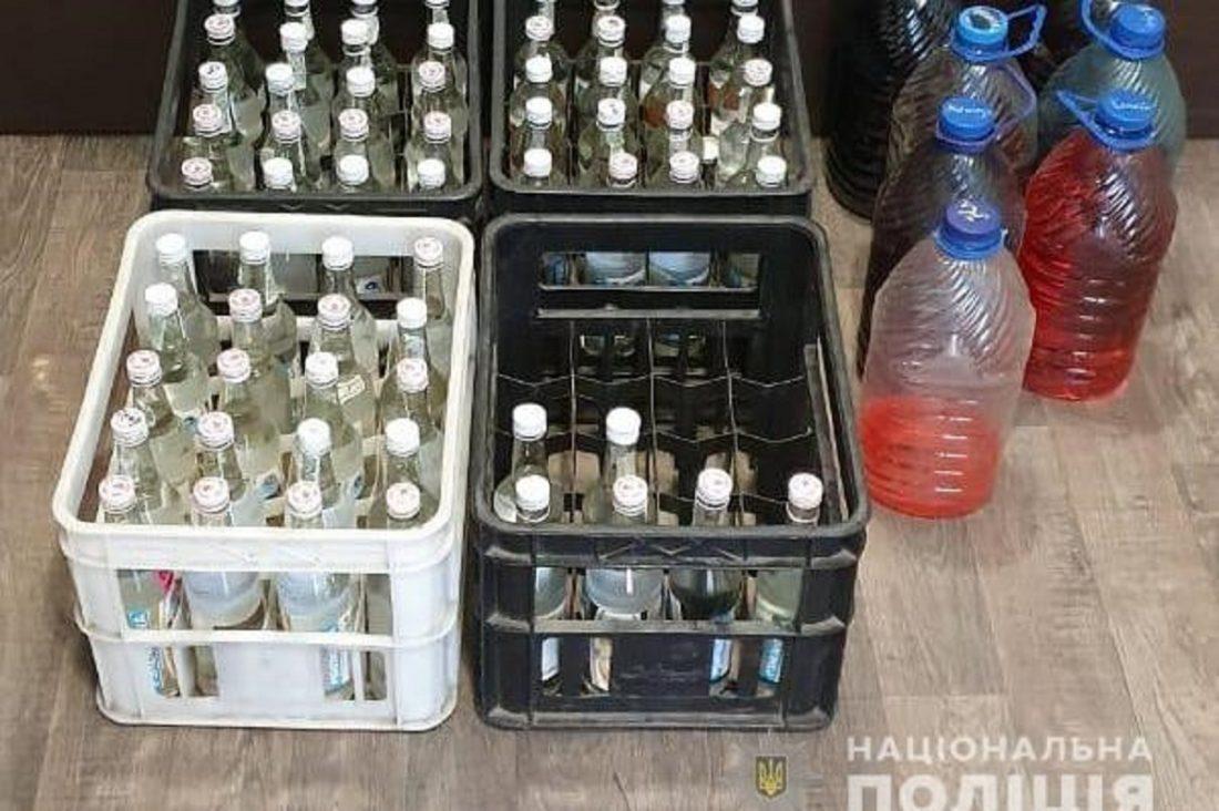 Без Купюр Майже 200 літрів неакцизного алкоголю конфіскували в Кропивницькому Кримінал  ГУ Нацполіції вилучення алкоголю 2020 рік