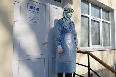 У Центральній міській лікарні Кропивницького пролікувалося 388 хворих на COVID-19