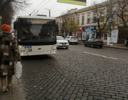 У Кропивницькому стихія кинула хлопця на авто, його госпіталізували