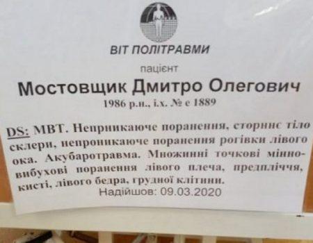 На Кіровоградщині збирають кошти для пораненого військового
