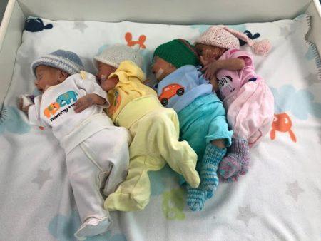 """""""Одні на 10 тисяч"""", – лікарі про народження четвірні в Кропивницькому"""