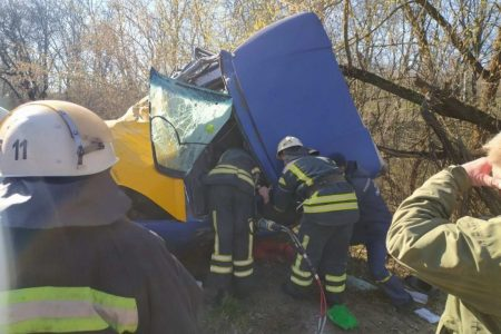 П'ятеро людей постраждали внаслідок ДТП на Кіровоградщині. ФОТО