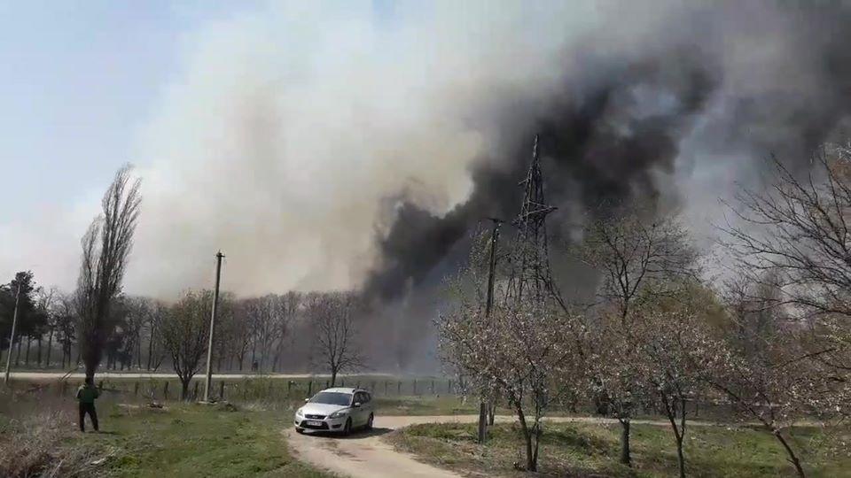 Без Купюр У Кропивницькому пожежа на полігоні побутових відходів. ФОТО. ВІДЕО Головне  сміттєзвалище рятувальники полігон пожежа Екостайл 2020 рік