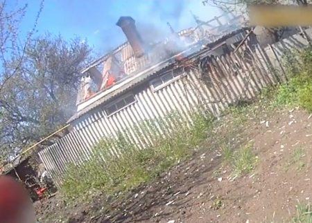 У Кропивницькому парульні врятували під час пожежі немічного чоловіка. ВІДЕО