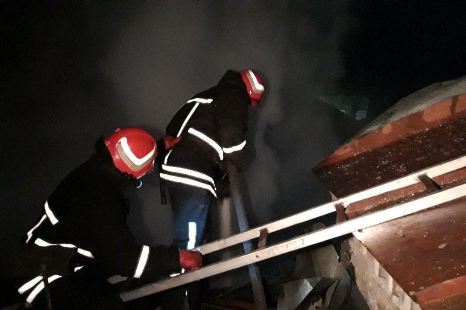 Без Купюр У Кропивницькому сталася пожежа в професійно-технічному ліцеї Події  пожежа ДСНС 2020 рік