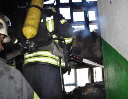 У Кропивницькому сталась пожежа у багатоповерхівці. ФОТО