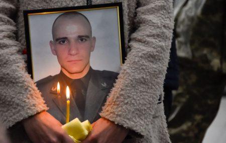 Рідні та побратими попрощалися з загиблим спецпризначенцем Ігорем Вівчаренком