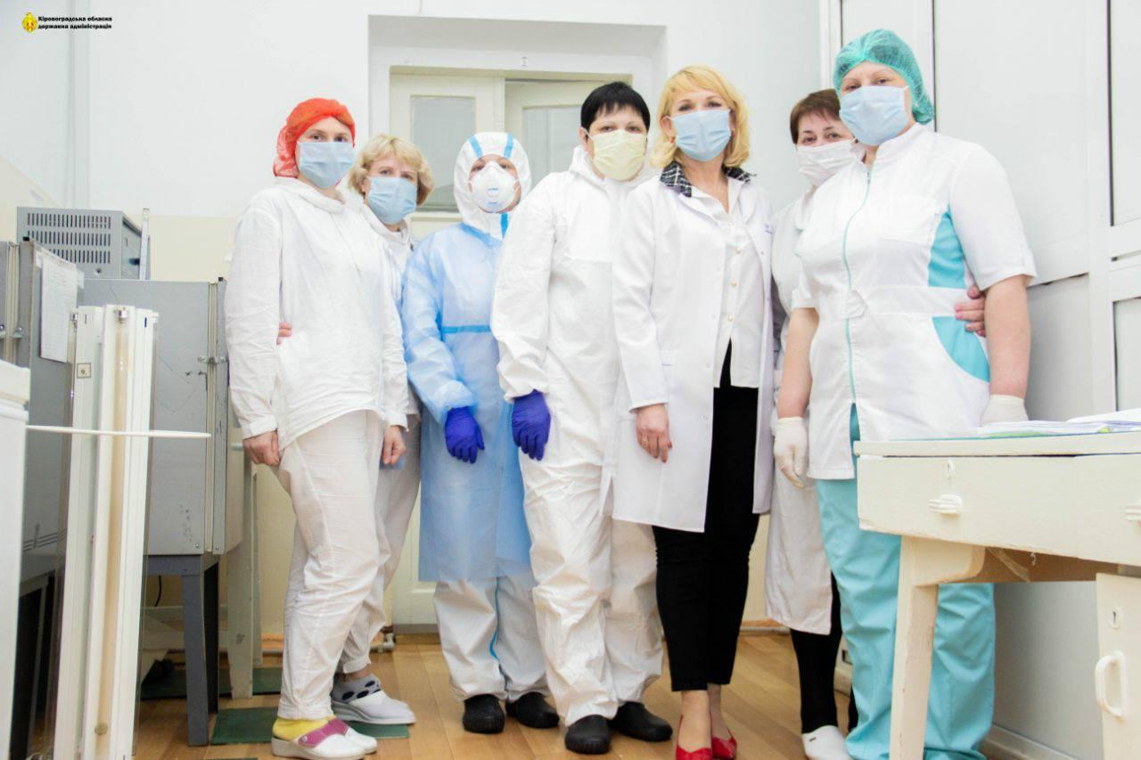 Без Купюр На Кіровоградщині тепер є можливість тестувати вдвічі більше хворих на COVID-19 Здоров'я  Надія Оперчук Кіровоградський лабораторний центр 2020 рік
