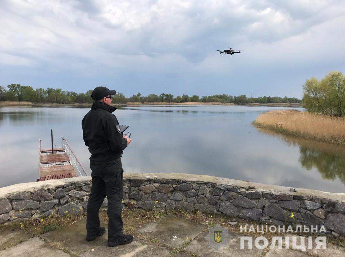 Без Купюр З катерами і дронами поліція відпрацьовує водні об'єкти в період нересту на Кіровоградщині. ФОТО Кримінал  поліція нерестова заборона нерест 2020 рік