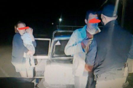 На Кіровоградщині п'яний водій засинав за кермом, але продовжував везти сім'ю