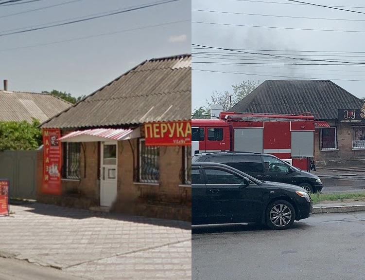 Без Купюр У Кропивницькому горить перукарня. ФОТО. ВІДЕО Події  рятувальники пожежа перукарня 2020 рік