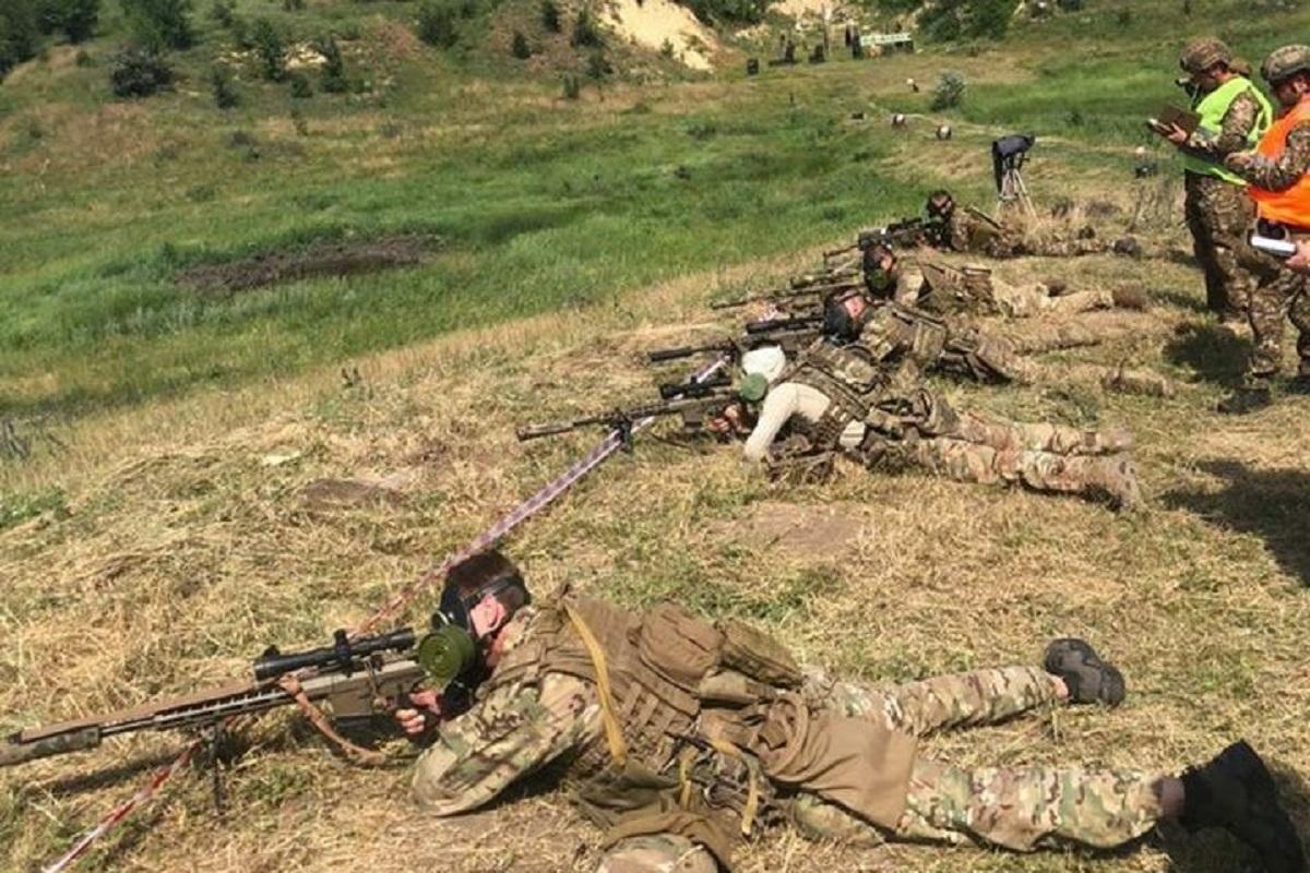 Без Купюр Бійці 3-го полку виграли змагання на найкращу снайперську пару Події  3 полк 2020 рік