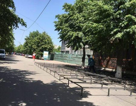 """У Кропивницькому """"SHO bar"""" захопив більше площі під літник, ніж дозволено"""