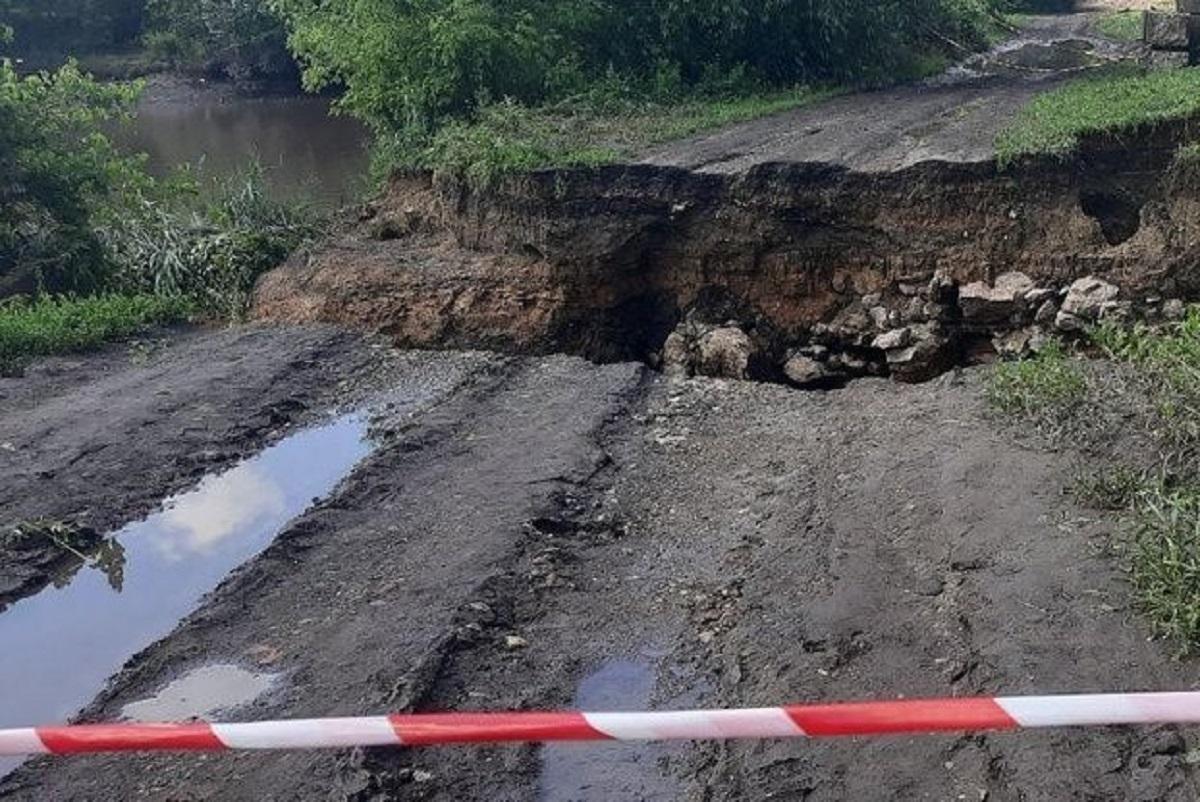 Без Купюр У Добровеличківці злива зруйнувала греблю Життя  Суспільне Добровеличківка 2020 рік