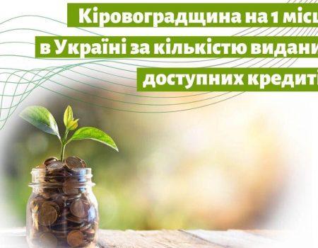 """Бізнес Кіровоградщини отримав """"Доступних кредитів"""" на понад 30 мільйонів"""