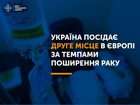 Другі в Європі за поширенням раку.  Що рекомендує Центр громадського здоров'я?