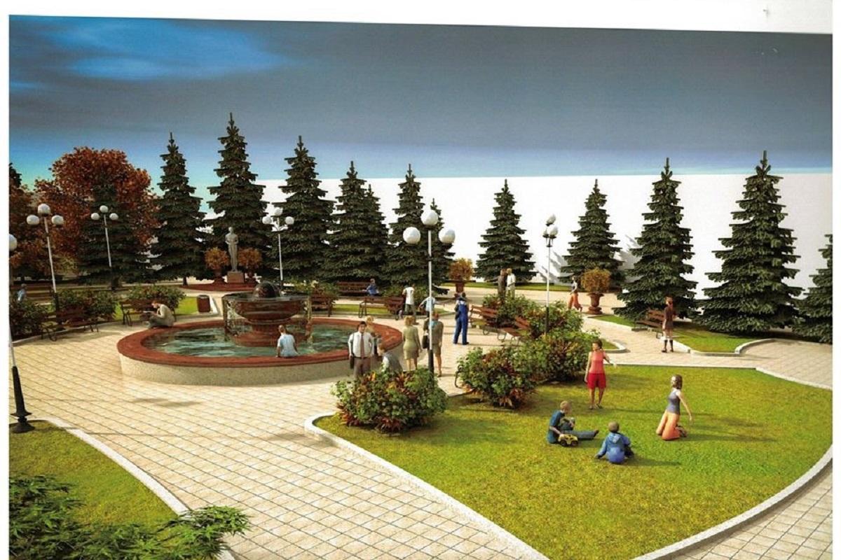 Без Купюр У Гайвороні хочуть реконструювати площу Героїв Майдану Життя  площа героїв майдану Гайворон 2020 рік