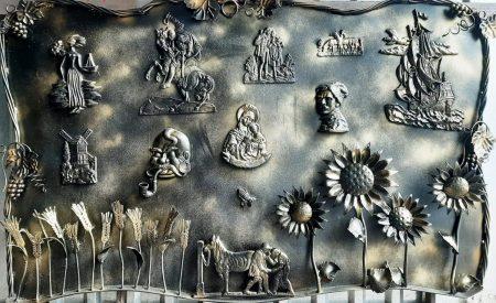 Художня ковка майстрів із Кіровоградщини прикрасила стіни Київської мерії