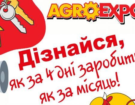 """Організатори """"АгроЕкспо"""" пропонують заробити жителям Кропивницького"""
