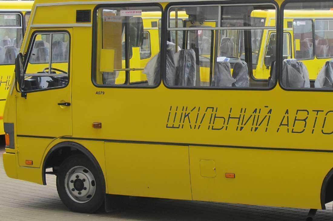 Без Купюр На Кіровоградщині закупили шкільні автобуси, обладнані GPS-трекерами Освіта  Володимир Таборанський автобуси 2020 рік
