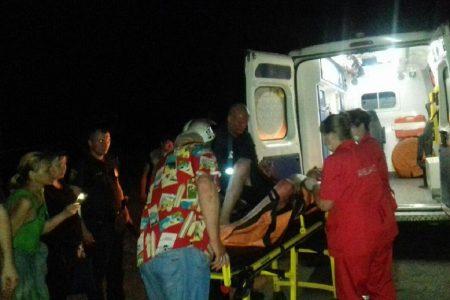 У Світловодському районі чоловік внаслідок пожежі отримав опіки