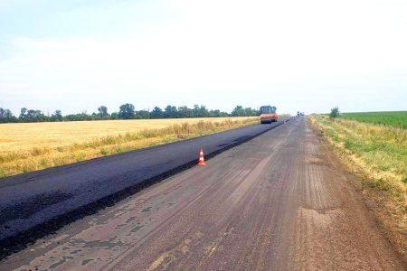 На Кіровоградщині через 9 років відновили реконструкцію траси М-12 біля Смоліного