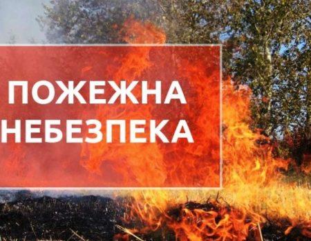 Синоптики попередили про пожежну небезпеку на Кіровоградщині