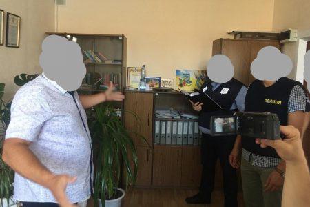 Кіровоградщина: посадовця управління Держпраці викрили на хабарі
