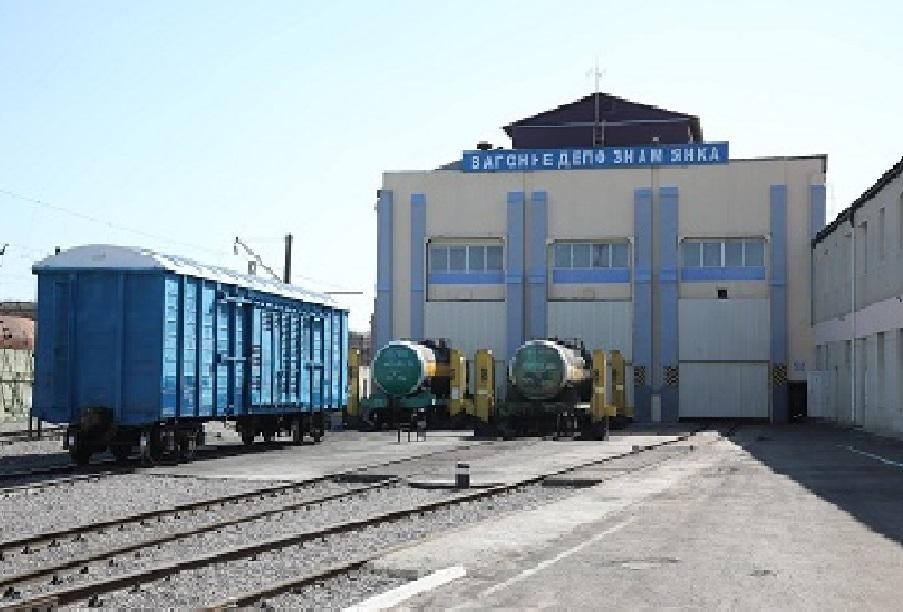 Без Купюр Знам'янське депо відремонтувало найбільше вантажних вагонів Транспорт  Одеська залізниця Знам'янка вагонне депо 2020 рік