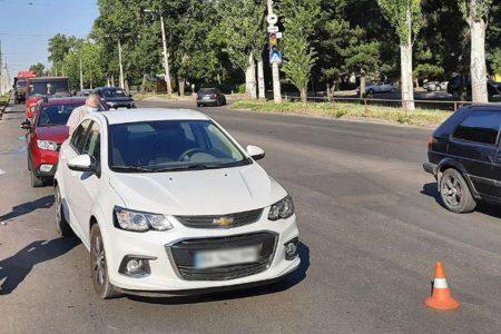 У Кропивницькому водій спричинив ДТП із чотирма авто. ФОТО