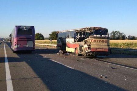 На Кіровоградщині зіштовхнулися автобуси, є загиблі й травмовані. ДОПОВНЕНО