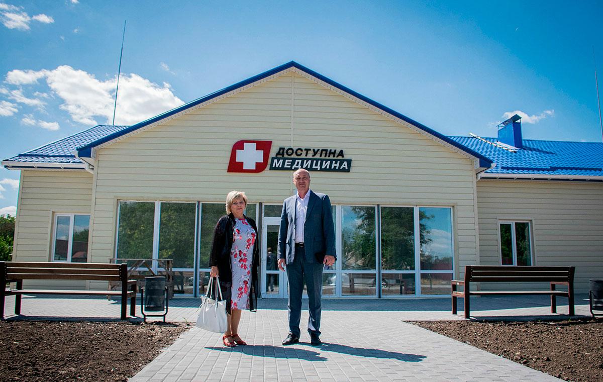 Без Купюр У Капітанівці Новомиргородського району завершується будівництво амбулаторії Здоров'я  будівництво амбулаторія 2020 рік