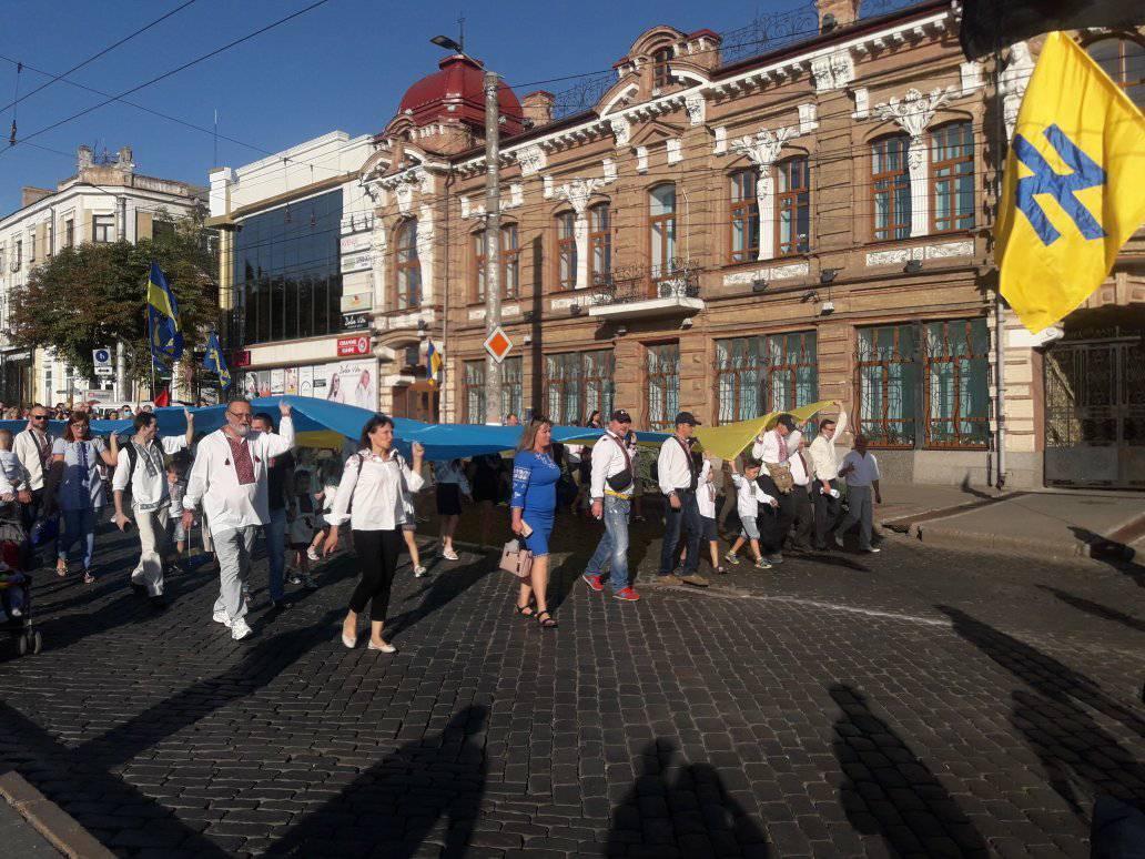 У Кропивницькому пройшла 11-та щорічна хода вишиванок. ФОТО 3