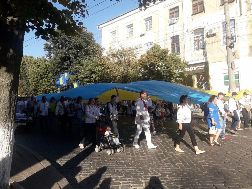 У Кропивницькому пройшла 11-та щорічна хода вишиванок. ФОТО 4