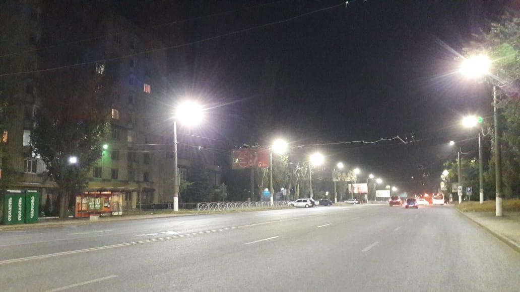 Без Купюр По вулиці Полтавській у Кропивницькому зробили енергоощадне вуличне освітлення Життя  освітлення 2020 рік