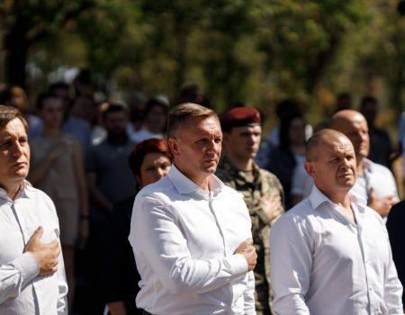 У Кропивницькому вшанували пам'ять загиблих у Другій Світовій війні. ФОТО