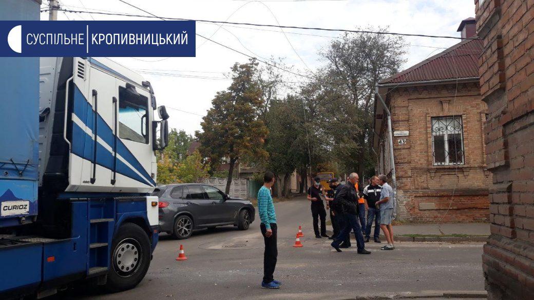 Без Купюр У Кропивницькому зіткнулися тролейбус і вантажівка. ФОТО За кермом  тролейбус ДТП 2020 рік