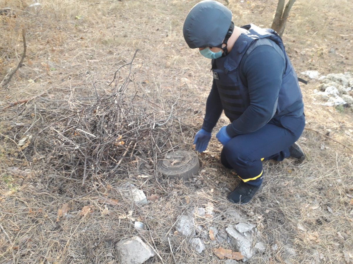 Без Купюр У Кропивницькому виявили та знешкодили протитанкову міну. ФОТО Події  сапери протитанкова міна новини Кропивницький 2020 рік