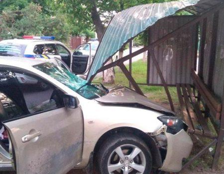 Суд позбавив права керування водія, який в'їхав у зупинку в Кропивницькому
