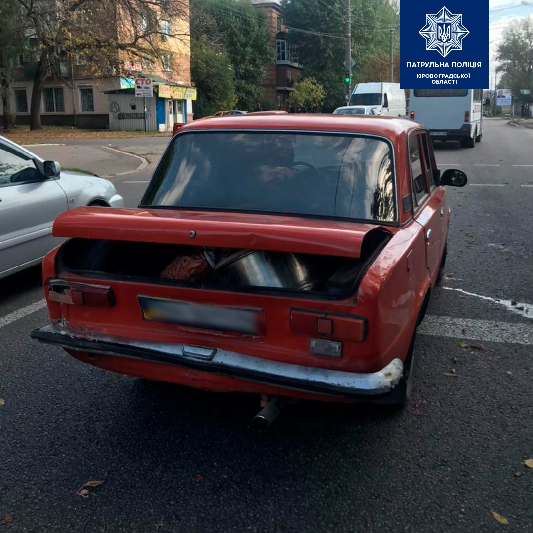 Без Купюр Патрульні знайшли водія, який напідпитку спричинив ДТП у Кропивницькому та втік. ФОТО За кермом  п'яний водій ДТП 2020 рік