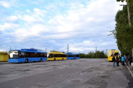 У Кропивницькому на новий маршрут «Автовокзал №1 – селище Нове» вийшли 4 нові тролейбуси